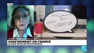 2021-01-26 17:02 Confinement en France : le coup de blues des étudiants étrangers
