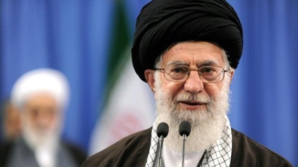 المرشد الأعلى للجمهورية الإسلامية الإيرانية آية الله علي خامنئي.
