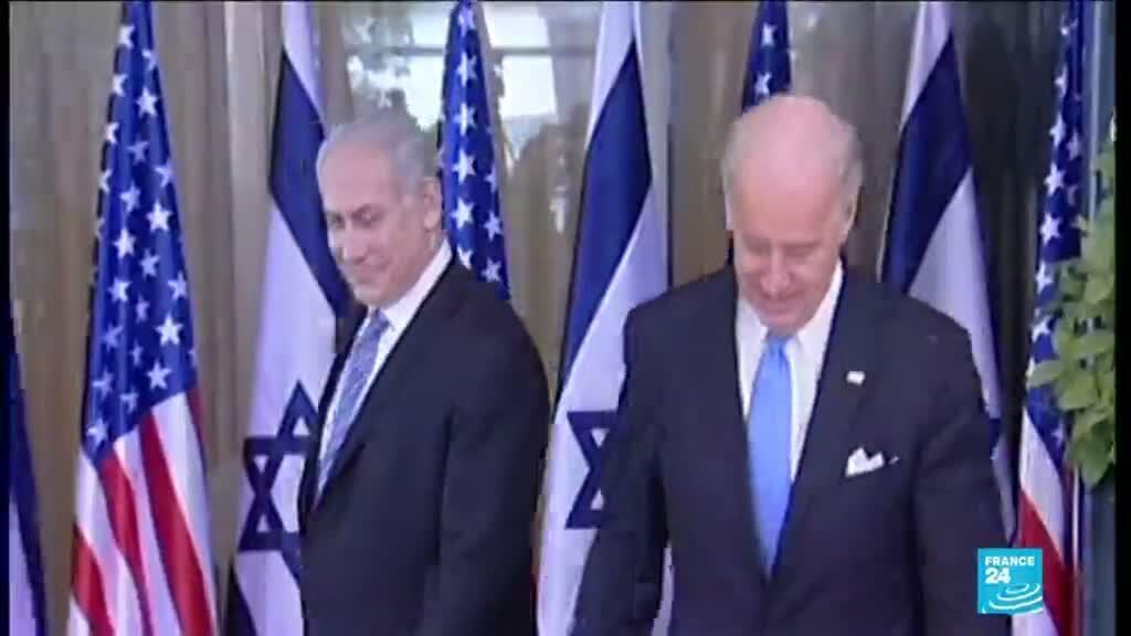 """2021-01-21 14:16 Joe Biden à la Maison Blanche : Israël appelle à """"renforcer l'alliance"""""""