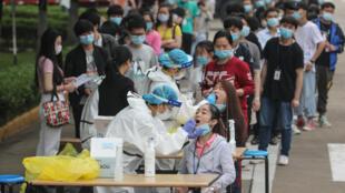 Wuhan China Coronavirus Tests