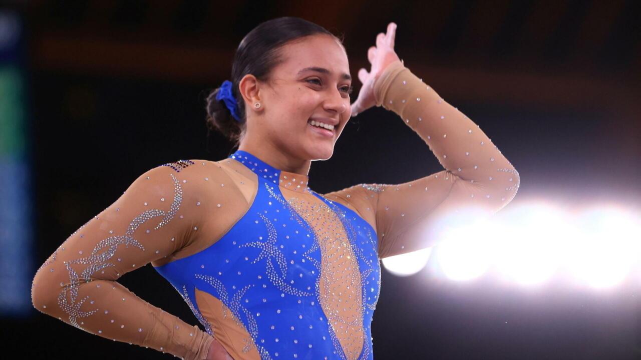 Tokyo 2021 : la gymnaste Luciana Alvarado rend hommage au mouvement Black Lives Matter