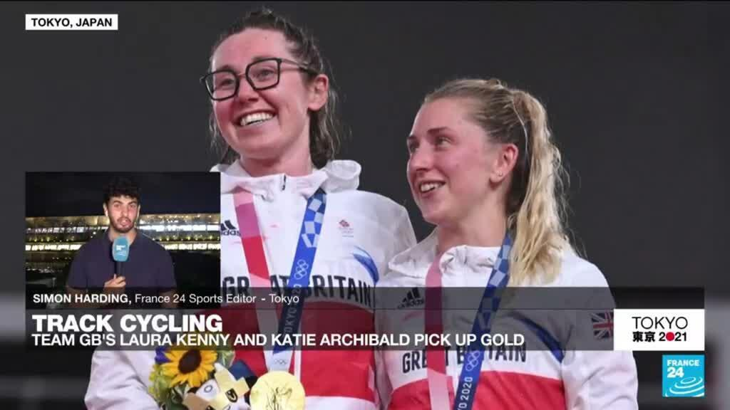 2021-08-06 16:17 Tokyo Olympic Games: Laura Kenny becomes the most successful British female athlete in history