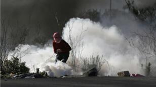 À Ramallah, les soldats israéliens ont notamment répliqué aux jets de pierres par des tirs de gaz lacrymogène