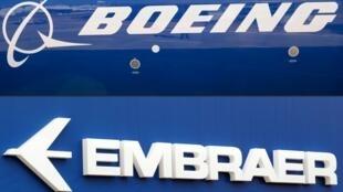 Tanto Boeing como Embraer están confrontados al derrumbe del sector aéreo provocado por la pandemia del nuevo coronavirus