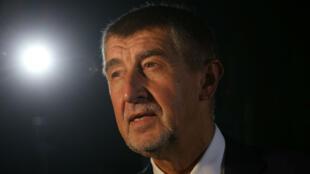 Andrej Babis, candidato del partido Alianza de Ciudadanos Descontentos (ANO) de República Checa.