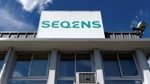 Le laboratoire Seqens à Porcheville le 9 juillet 2020
