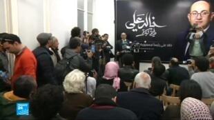 المحامي الحقوقي البارز والمرشح الرئاسي المحتمل في مصر خالد علي.