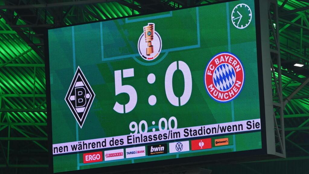 كأس ألمانيا: مونشنغلادباخ يكتسح بايرن ميونيخ بخماسية نظيفة ويقصيه من البطولة