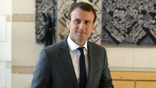 المرشح الرئاسي إيمانويل ماكرون