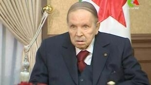 الرئيس الجزائري عبد العزيز بوتفليقة 11 مارس/ آذار 2019.