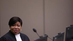 فاتو بنسودة القاضية بالمحكمة الجنائية الدولية في لاهاي يوليو/تموز 2019.