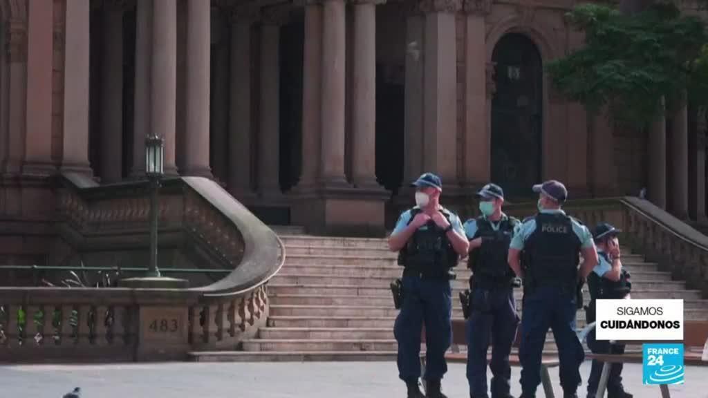 2021-08-22 14:42 Australia: primer ministro defiende confinamientos tras récord de casos de Covid-19