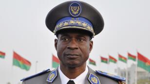 Photographie du général Gilbert Diendéré prise le 10 décembre 2011, à Ouagadougou, capitale burkinabè.