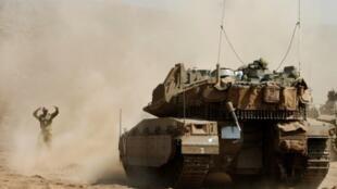 مناورات عسكرية إسرائيلية في الجزء المحتل من هضبة الجولان
