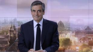 François Fillon sur le plateau du journal de France 2, dimanche 5 mars 2017.