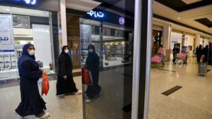 Saudis shop at the Panorama Mall in Riyadh as Muslims prepare to celebrate Eid al-Fitr