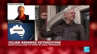 2021-01-04 13:01 Julian Assange's 10-year fight against extradition