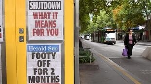 Australia went into lockdown on March 23, with the forced closure of pubs, casinos, churches and gyms.