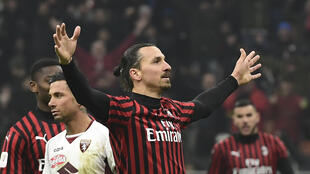 Zlatan Ibrahimovic has scored eight goals in all competitions since his return to AC Milan in January.
