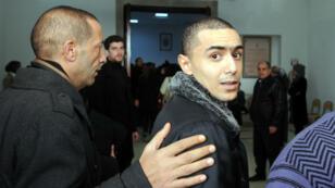 Weld El-15 arrive au tribunal de Nabeul, en Tunisie, le 5 décembre 2013.