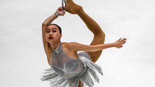 Jessica Shuran Yu lors des Jeux du sud-est asiatique le 27 août 2017 à Kuala Lumpur.