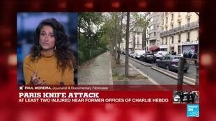 2020-09-25 15:50 'We must be careful': Two journalists wounded in Paris knife attack