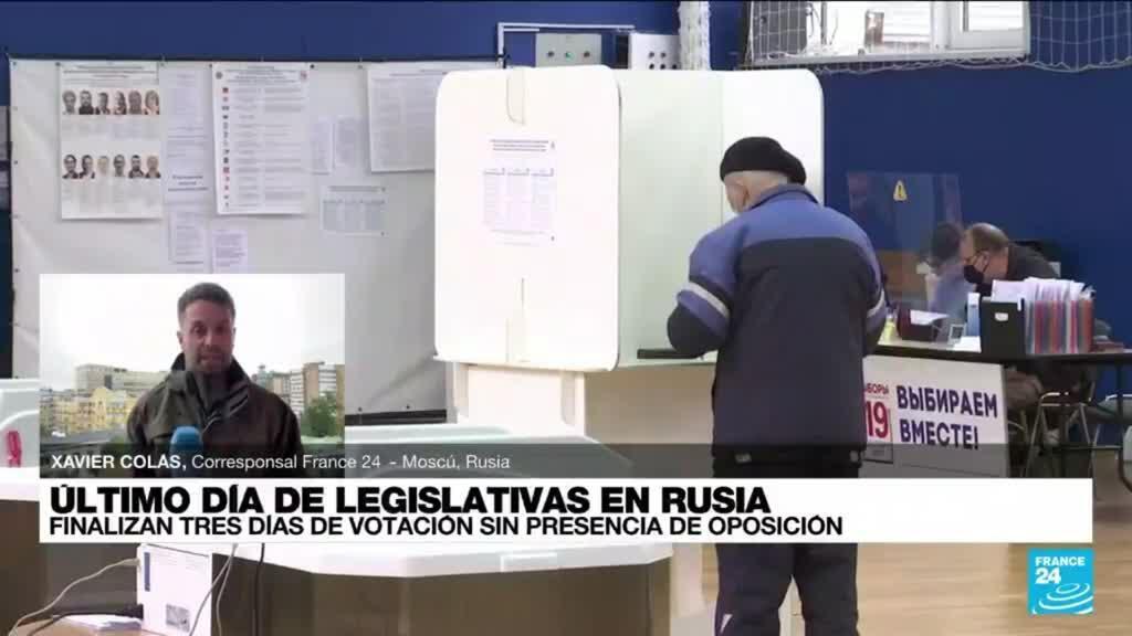 2021-09-19 16:02 Informe desde Moscú: finalizan tres días de votaciones legislativas en Rusia