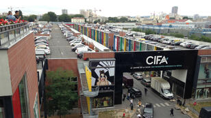 Le marché Cifa (Centre international de commerce France-Asie) à Aubervilliers, en Ile-de-France, où la plupart des grossistes sont d'origine chinoise.