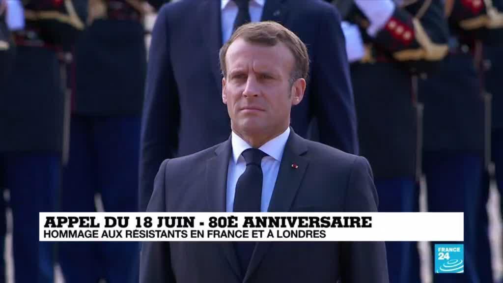 2020-06-18 11:39 Appel du 18 juin : La Marseillaise et Le Chant des partisans entonnés au Mont-Valérien