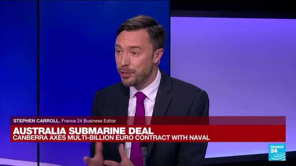 2021-09-16 11:04 Australia submarine deal: France's Naval Group expresses 'great diasppointment'