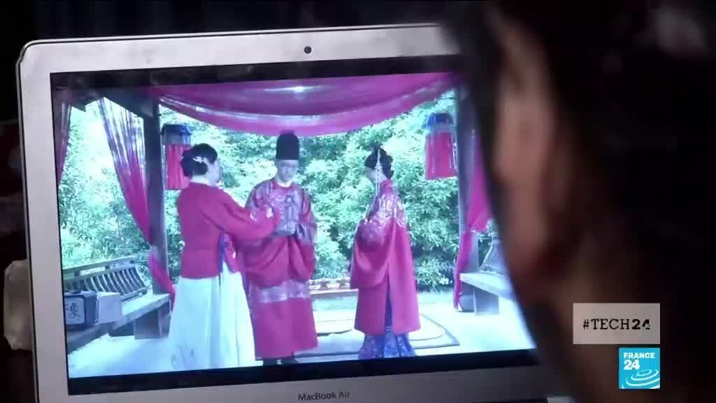 """2020-05-18 11:44 Coronavirus : les mariés chinois se disent """"oui"""" sur Bilibili !"""