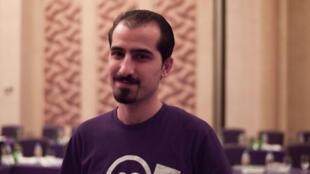 Bassel Khartabil, en 2010, deux ans avant son arrestation en Syrie