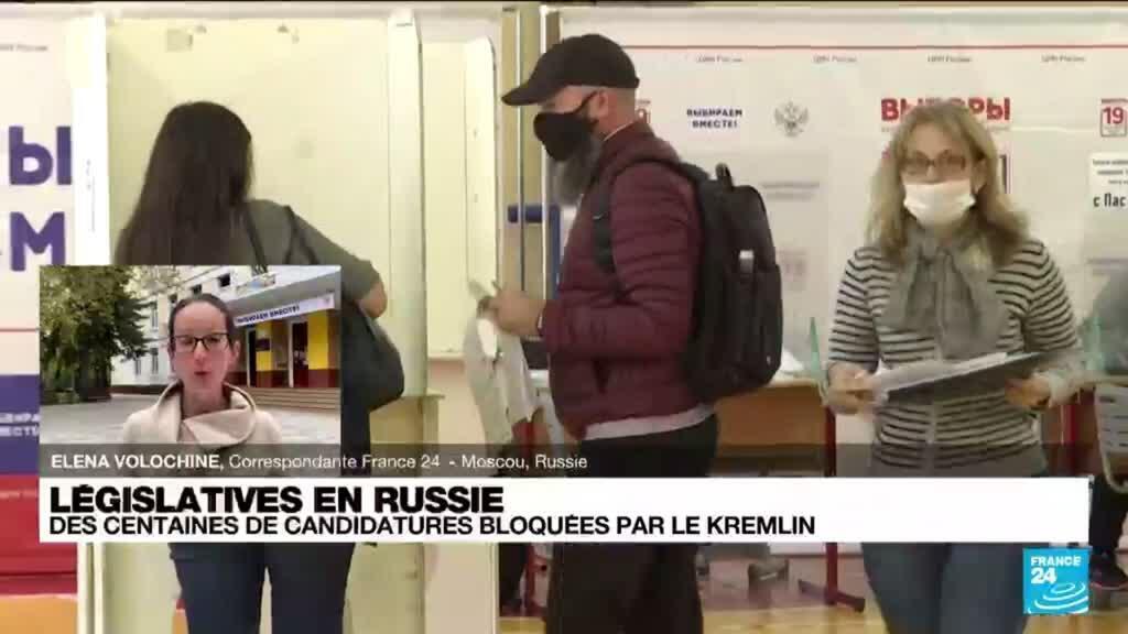 2021-09-17 14:09 Législatives en Russie : l'applications électorale de l'opposition supprimée