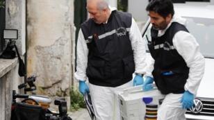 عناصر من الشرطة التركية تبحث عن جثة خاشقجي