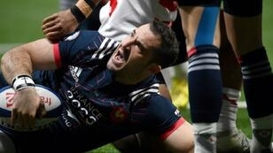 Scott Spedding's only international try came in his final France appearance in the draw against Japan in November 2017