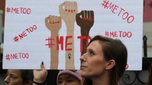 Manifestation contre le harcélement sexuel en novembre 2017 en Californie.