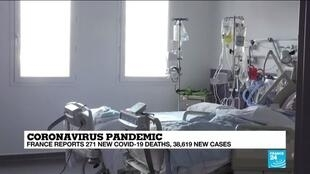 2020-11-09 14:09 Covid-19: Paris finds hope in falling hospital admissions
