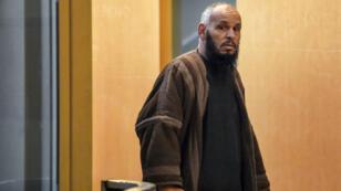 L'imam algérien El Hadi Doudi au palais de justice de Marseille, le 8 février 2018.