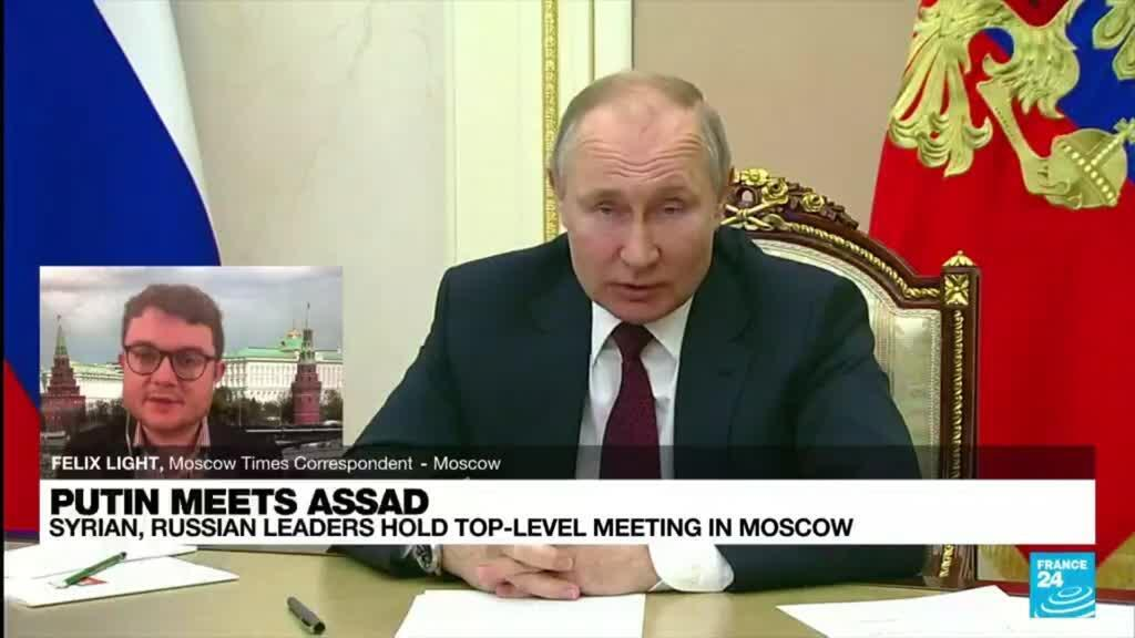 2021-09-14 08:10 Putin meets Assad: Syrian, Russian leaders hold top-level meeting in Moscow