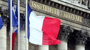 مبنى الجمعية الوطنية (البرلمان الفرنسي) في باريس