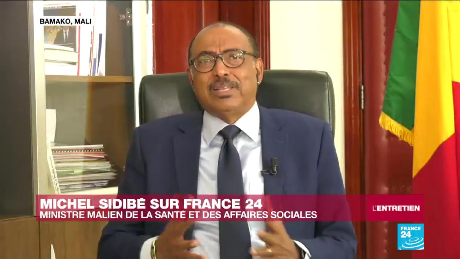 Michel Sidibé, le ministre de la Santé malien