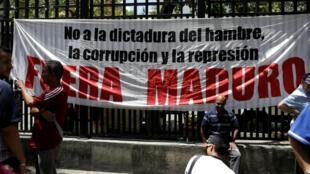 Asambleas ciudadanas en contra del Gobierno del presidente Nicolás Maduro.