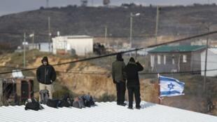 مستوطنة عمونة الإسرائيلية في الضفة الغربية