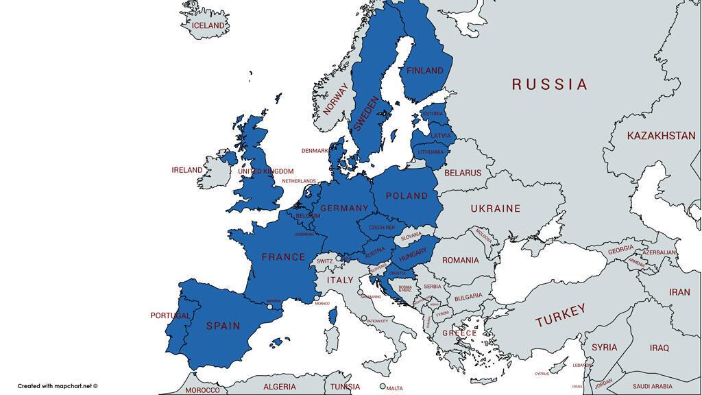 Estos son los 19 países europeos que reconocieron a Guaidó como presidente interino de Venezuela