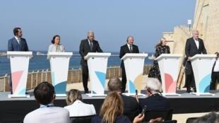 Un mini-sommet a été organisé à Malte sur la question des migrants, lundi 23 septembre 2019.