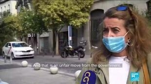 2020-10-05 16:07 'A way to kill our economy': Madrid starts partial virus lockdown amid political dispute
