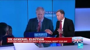 """2019-12-13 11:08 UK General election: """"The Scottish voice is not heard at Westminster"""""""