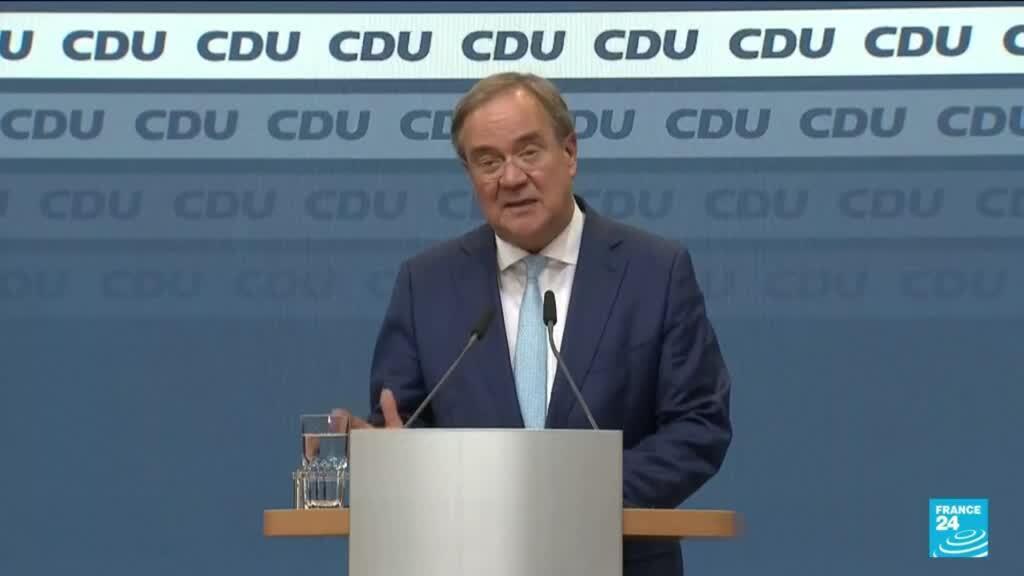 2021-10-08 10:07 Allemagne : le chef de file des conservateurs de Merkel amorce son retrait
