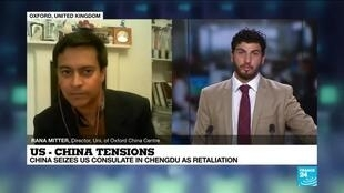 2020-07-27 23:10 US - China tensions : China seizes US consulate in Chengdu as retaliation