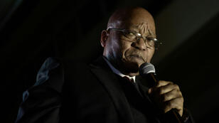 Jacob Zuma, ici en août 2017, est de plus en plus contesté à la tête de l'État.